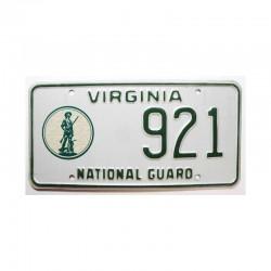 Plaque d Immatriculation USA - Virginia ( 351 )