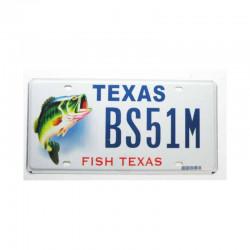 Plaque d Immatriculation USA - Texas ( 916 )