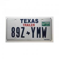 Plaque d Immatriculation USA - Texas ( 348 )