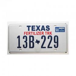 Plaque d Immatriculation USA - Texas ( 346 )