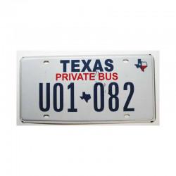 Plaque d Immatriculation USA - Texas ( 345 )