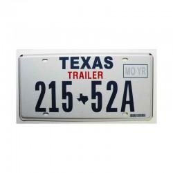 Plaque d Immatriculation USA - Texas ( 343 )