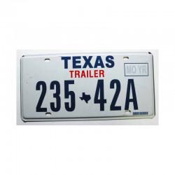 Plaque d Immatriculation USA - Texas ( 342 )