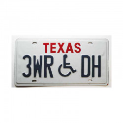 Plaque d Immatriculation USA - Texas ( 340 )