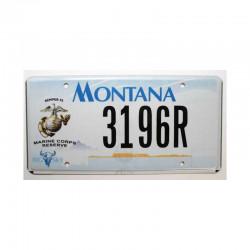 Plaque d Immatriculation USA - Montana ( 337 )