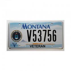 Plaque d Immatriculation USA - Montana ( 336 )