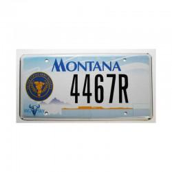 Plaque d Immatriculation USA - Montana ( 334 )