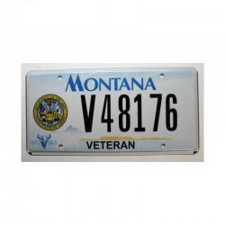 Plaque d Immatriculation USA - Montana ( 333 )