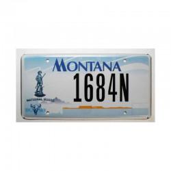 Plaque d Immatriculation USA - Montana ( 332 )