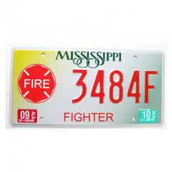 Plaque d Immatriculation USA - Mississippi ( 329 )