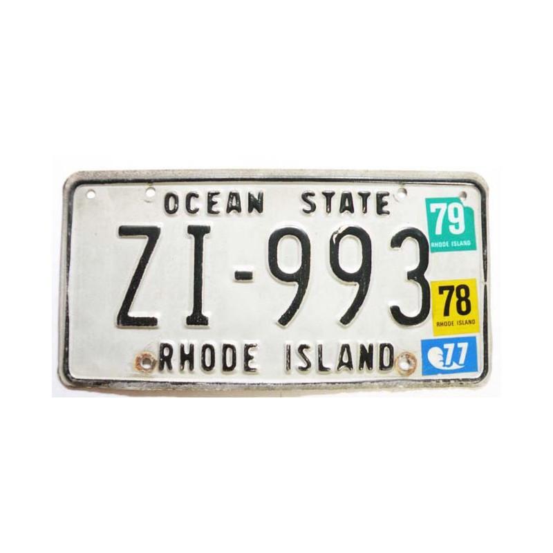Plaque d Immatriculation USA - Rhode Island ( 361 )