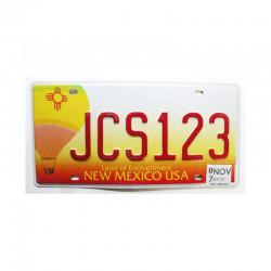 Plaque d Immatriculation USA - New Mexico ( 363 )