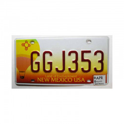 Plaque d Immatriculation USA - New Mexico ( 362 )
