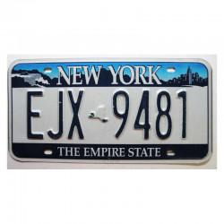 Plaque d Immatriculation USA - New York ( 381 )
