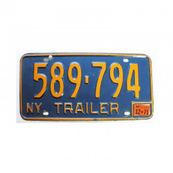 Plaque d Immatriculation USA - New York ( 382 )