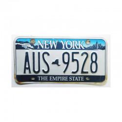 Plaque d Immatriculation USA - New York ( 383 )