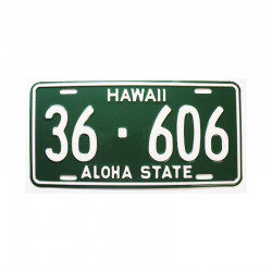 Plaque d Immatriculation USA - Hawaii ( 408 )