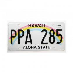 Plaque d Immatriculation USA - Hawaii ( 406 )