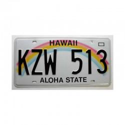 Plaque d Immatriculation USA - Hawaii ( 405 )