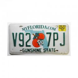 Plaque d Immatriculation USA - Florida ( 403 )