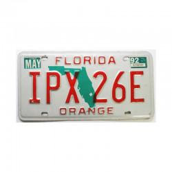 Plaque d Immatriculation USA - Florida ( 402 )