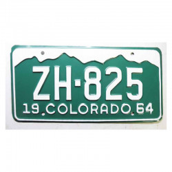 Plaque d Immatriculation USA - Colorado ( 401 )