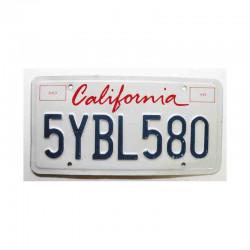 Plaque d Immatriculation USA - California ( 398 )