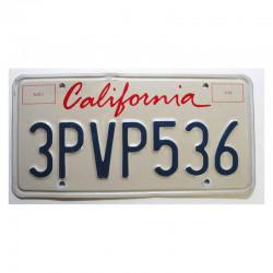 Plaque d Immatriculation USA - California ( 394 )