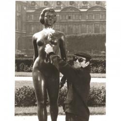 photo originale de C. Aznavour  ( BNM )