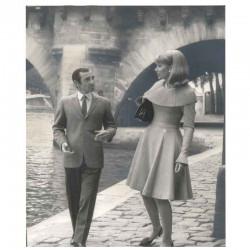 photo originale de C. Aznavour, S Hampshire ( BNS )
