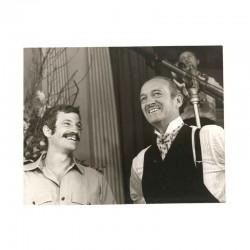photo originale de David Niven et J.P Belmondo ( BNW )