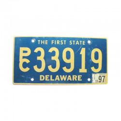 Plaque d Immatriculation USA - Delaware ( 417 )