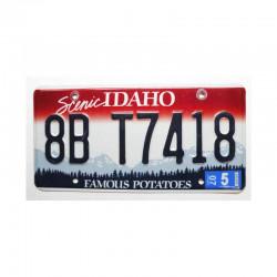 Plaque d Immatriculation USA - Idaho ( 418 )