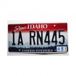 Plaque d Immatriculation USA - Idaho ( 419 )