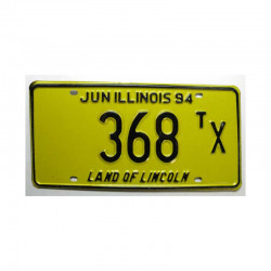 Plaque d Immatriculation USA - Illinois ( 427 )