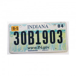 Plaque d Immatriculation USA - Indiana ( 432)