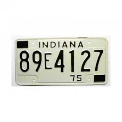 Plaque d Immatriculation USA - Indiana ( 433 )