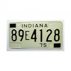 Plaque d Immatriculation USA - Indiana ( 434 )