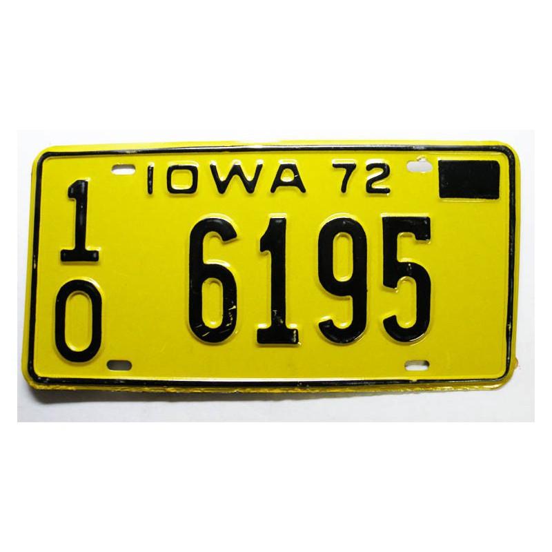 Plaque d Immatriculation USA - Iowa ( 439 )
