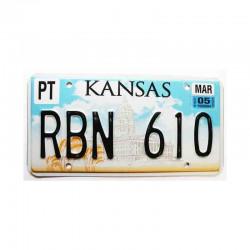 Plaque d Immatriculation USA - Kansas ( 446 )