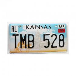 Plaque d Immatriculation USA - Kansas ( 444 )