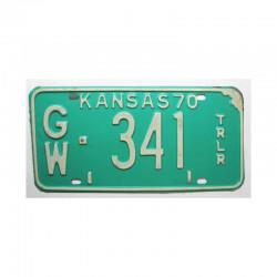 Plaque d Immatriculation USA - Kansas ( 447 )