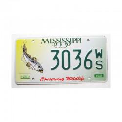 Plaque d Immatriculation USA - Mississippi ( 463 )