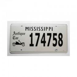 Plaque d Immatriculation USA - Mississippi ( 464 )