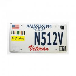 Plaque d Immatriculation USA - Mississippi ( 465 )