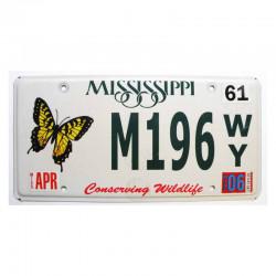Plaque d Immatriculation USA - Mississippi ( 466 )