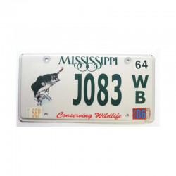 Plaque d Immatriculation USA - Mississippi ( 467 )