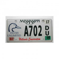 Plaque d Immatriculation USA - Mississippi ( 469 )