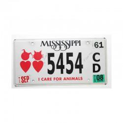 Plaque d Immatriculation USA - Mississippi ( 471 )