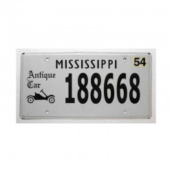 Plaque d Immatriculation USA - Mississippi ( 472 )